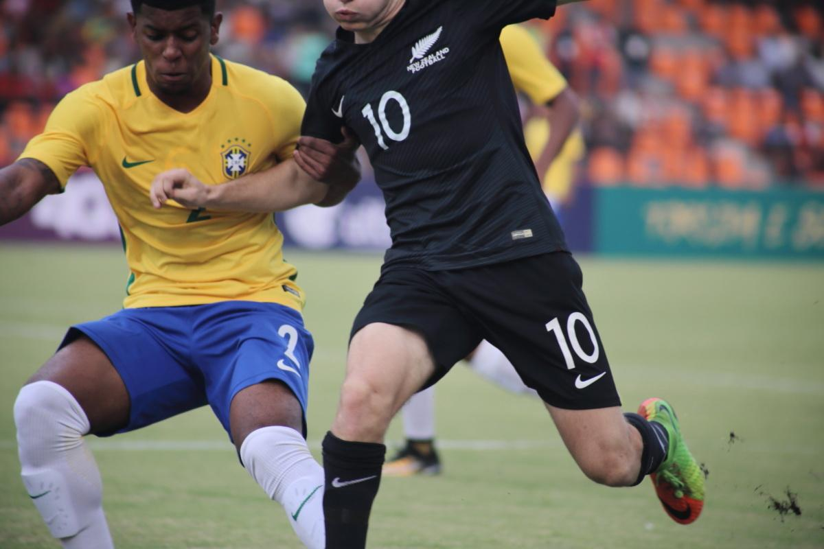 U-17 friendly between Brazil and New Zealand